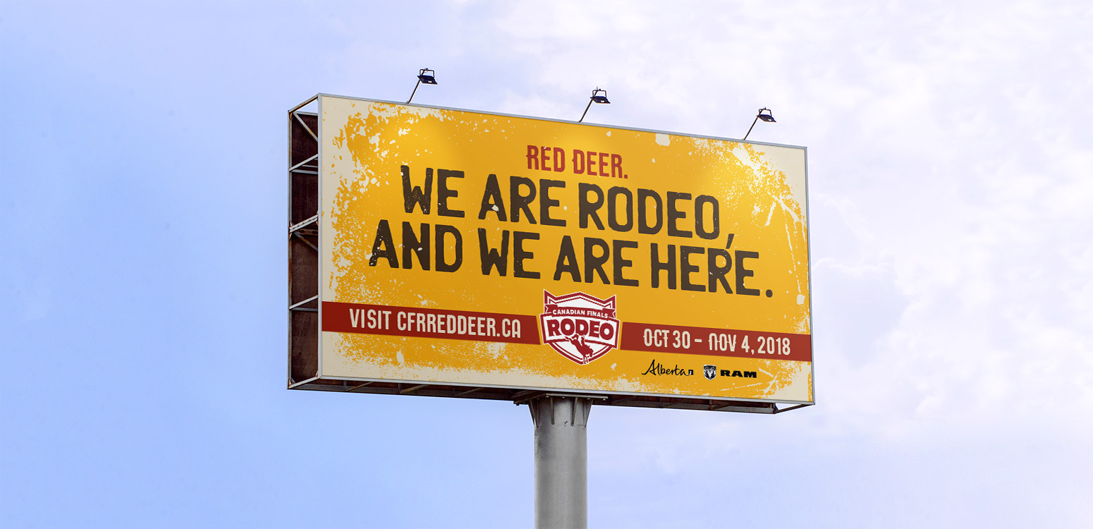 Canadian Finals Rodeo – Advertising Campaign