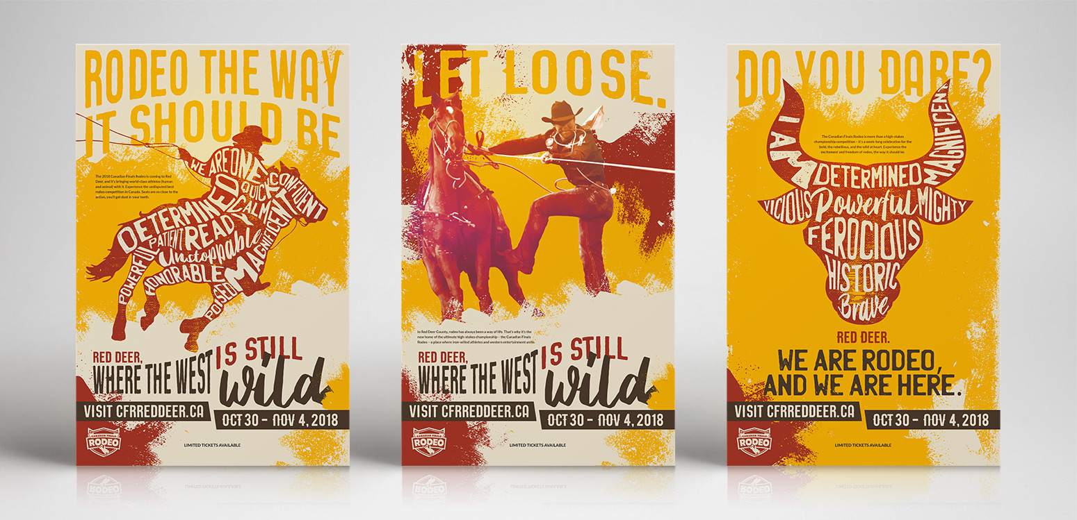 Canadian Finals Rodeo – Branding