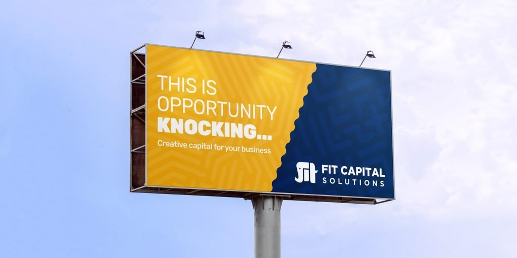 Fit Capital Solutions - Billboard example