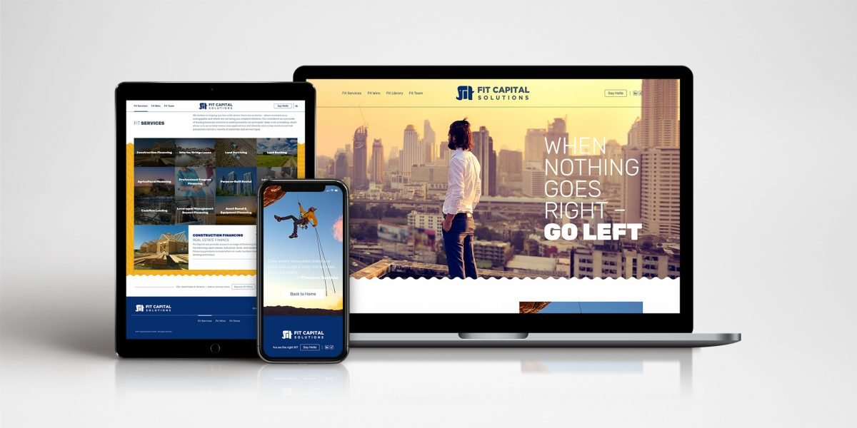 Fit Capital - website flats