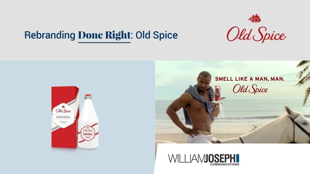 rebrand old spice commercial